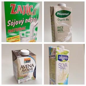 Rostlinná mléka mix