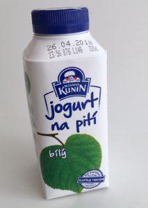 Jogurt na pití bílý