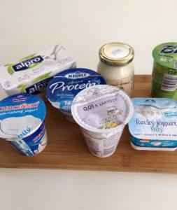 Bílé jogurty skupina