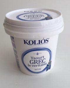 Řecký jogurt kolios tučný