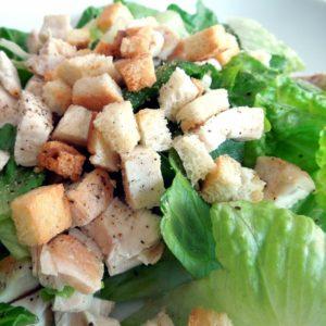 Salát Caesar odlehčený