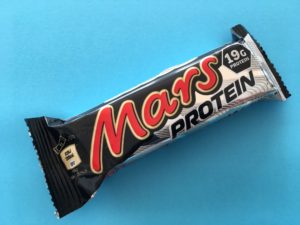 Tyčinka Mars protein