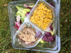 Salát venku