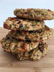 Ovesné cookies s brusinkami a cuketou