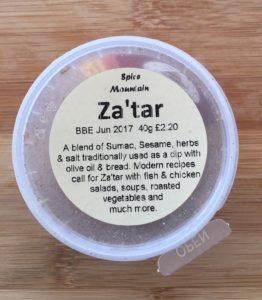 Koření zaatar