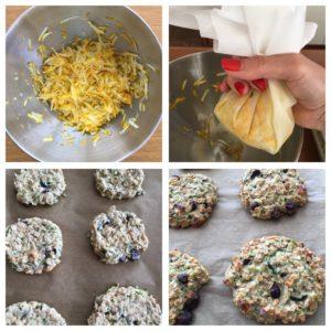 Ovesné cookies postup