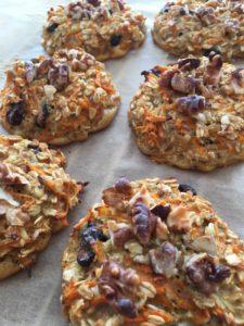Ovesné cookies s mrkví