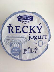 Řecký jogurt 0% tuku