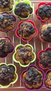 Muffiny upečené