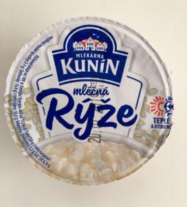 Mléčná rýže natural