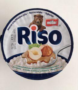 Mléčná rýže lískooříšková