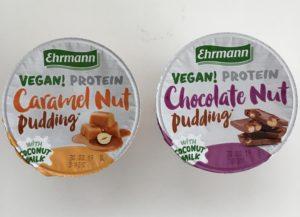 Proteinové pudinky veganské