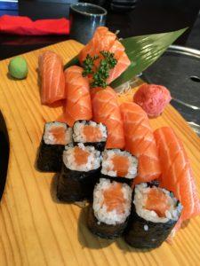 Jak si vybrat sushi k obědu při hubnutí