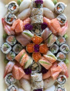 Sushi a hubnutí Sushiqueen