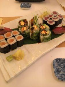 Sushi a hubnutí Yamato