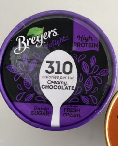Zmrzlina Bryers hubnutí