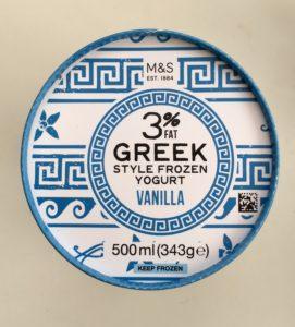 Jogurtová zmrzlina Spencer