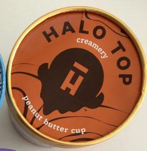 Zmrzlina halotop hubnutí