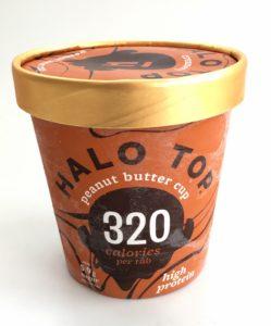Zmrzlina Halotop z boku