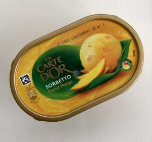 Sorbet mangový