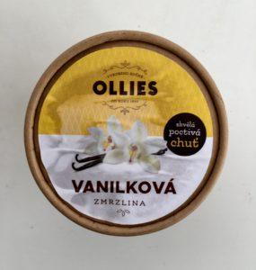 Vanilková zmrzlina Ollies