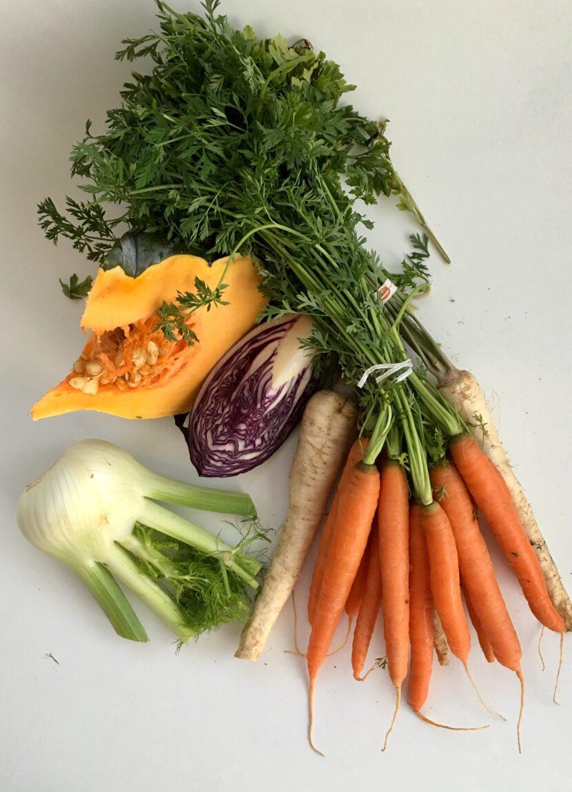 Zimní zelenina a hubnutí