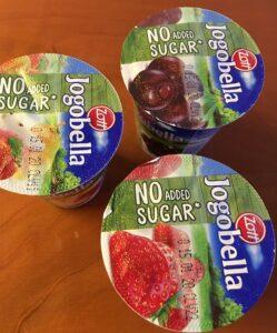 Jogurt Jogobella bez cukru a sladidel
