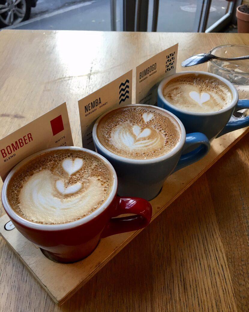 Káva flatwhite