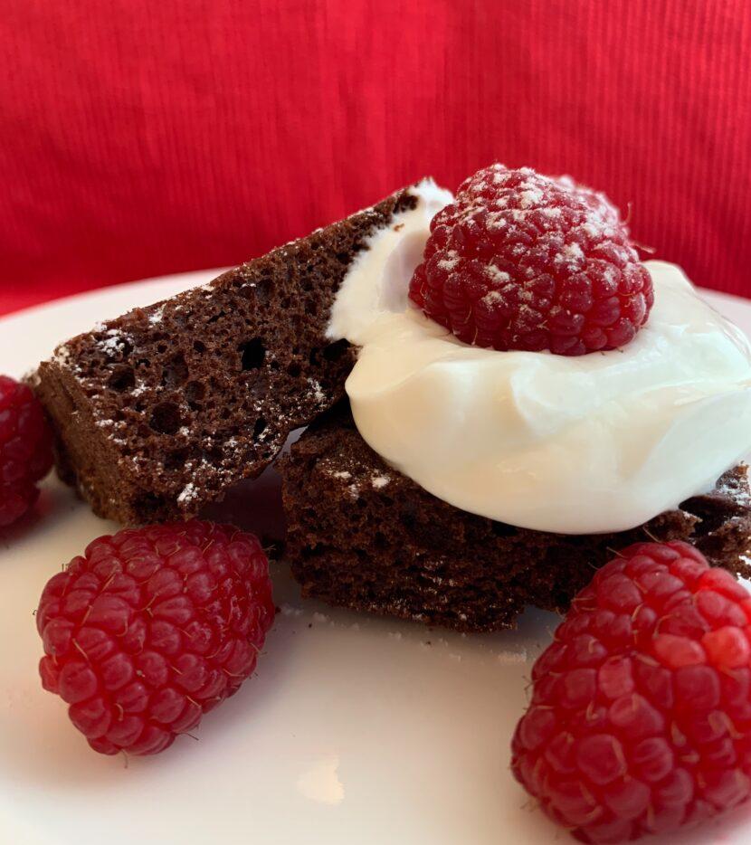 Čokoládový dortík bez cukru