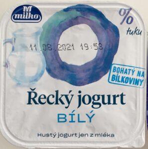 Řecký bílý jogurt Milko 0% tuku